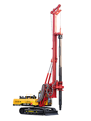 Kelly bar rotary drilling rig